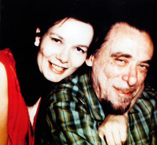 Linda King and Charles Bukowski