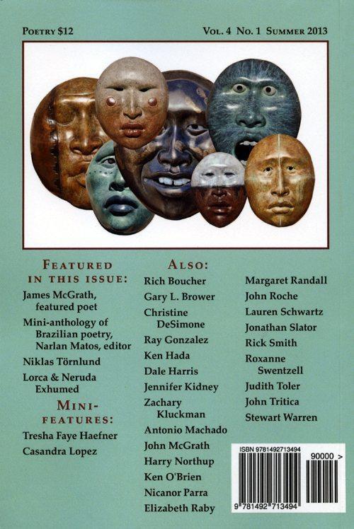 the malpais review | vol. 4 no. 1 | summer 2013