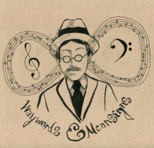 James Joyce image by Sara Jewell